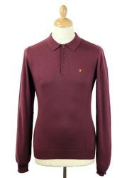 The Affery FARAH VINTAGE Retro Mod Merino Polo (B)