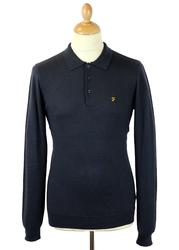 The Affery FARAH VINTAGE Retro Mod Merino Polo TN