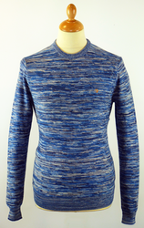 The Ashby FARAH VINTAGE Retro Space Dye Jumper DI