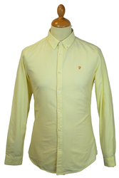 The Brewer FARAH VINTAGE Retro Mod Oxford Shirt B