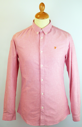 The Brewer FARAH VINTAGE Retro Mod Oxford Shirt R