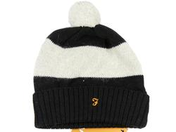 Elderidge FARAH VINTAGE Retro Stripe Bobble Hat