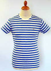The Weston FARAH VINTAGE Retro Mod Stripe Tee A