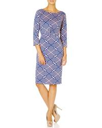 Albers FEVER Geometric Print Pencil Dress (BP)