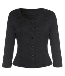 Bray FEVER Retro 1940s Cable Knit Cardigan (B)