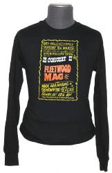 retro sixties vintage fleetwood mac mod t-shirt