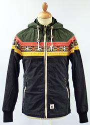 Baldwin FLY53 Retro Indie Navajo Stripe Mod Jacket