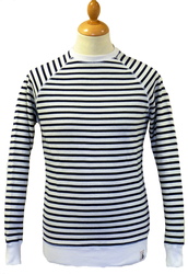 Albatross FLY53 Retro Indie Breton Stripe Sweater