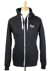 Chirpy FLY53 Retro Zip Through Fleece Hoodie (A)