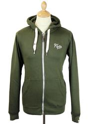 Chirpy FLY53 Retro Zip Through Fleece Hoodie (DO)