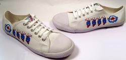 'Grand Sport' - Mens Retro Mod Scooter Trainers