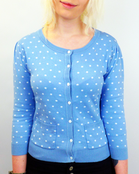 Spot FRIDAY ON MY MIND Retro Vintage Cardigan
