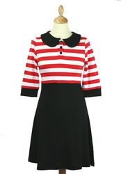 Lesley Dress FRIDAY ON MY MIND Retro Mod Dress B