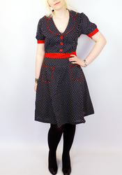 Lucy FRIDAY ON MY MIND Retro Vintage 50s Dress