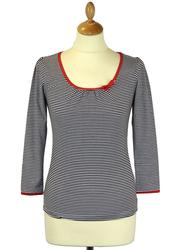 Sailor Top FRIDAY ON MY MIND Retro Stripe Top (B)