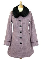 Tammy FRIDAY ON MY MIND Retro Jacquard Knit Coat P