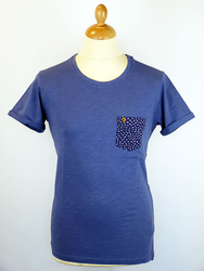 The Billy FARAH VINTAGE Retro Indie Pocket Tee (I)