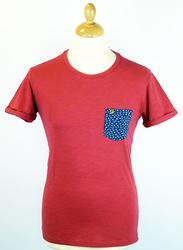 The Billy FARAH VINTAGE Retro Indie Pocket Tee (R)
