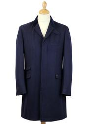 GABICCI VINTAGE Retro 60s Mod Melton Top Coat (N)