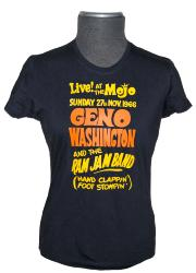 'Geno Washington' - Ladies Mod King Mojo T-shirt