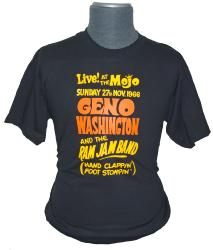 sixties mod king mojo retro geno washington tshirt