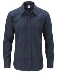 GLOVERALL Retro Mod Check Brushed Cotton Shirt (N)