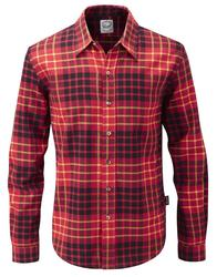 GLOVERALL Retro Classic Check Brushed Cotton Shirt