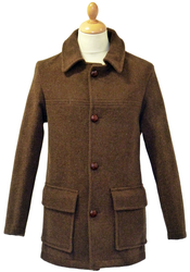 Litchfield GLOVERALL 3207 Retro Mod 1950s Car Coat