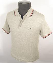 MERC LONDON PIQUE POLO CARD MOD RETRO SIXTIES POLO