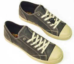 'Beat Lo' - Fender Retro Trainers (Grey)