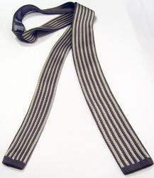 'Windsor Knitted Tie' - Sixties Mod Mens Tie (S/G)