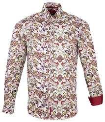 GUIDE LONDON 60s Psychedelic Mod Paisley Shirt