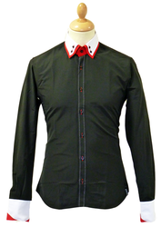 Clarke JEKYLL & HYDE Retro Double Collar Mod Shirt