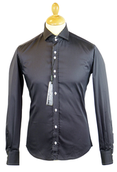 Micro Dash GUIDE LONDON Retro 60s Mod Smart Shirt