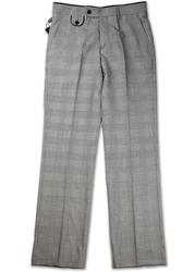 GUIDE LONDON Mod Prince Of Wales Check Trousers