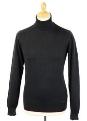 GUIDE LONDON Retro Mod Classic Roll Neck Jumper B
