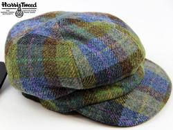 FAILSWORTH Harris Tweed Ladies Retro Check Hat (P)