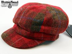 FAILSWORTH Harris Tweed Ladies Retro Check Hat (R)