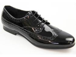 Gooding H by HUDSON Retro Mod Patent Smart Brogues