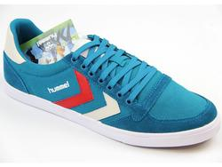 HUMMEL Slimmer Stadil Low Canvas Retro Trainers OD