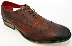 Squire IKON ORIGINAL 60s Mod Oily Leather Brogues