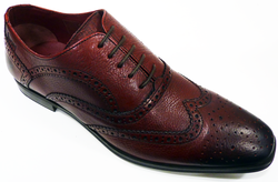 Hampton IKON ORIGINAL Retro 60s Mod Brogue Shoes