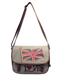 Brit Satchel JAN CONSTANTINE Retro Vintage Bag
