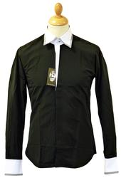 Merlin JEKYLL & HYDE Retro Mod Check Trim Shirt B