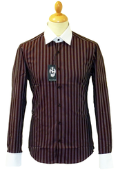 Dylan JEKYLL & HYDE Retro Mod Multi Stripe Shirt