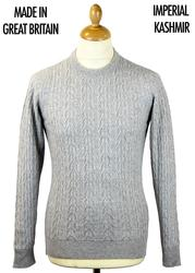 Dales JOHN SMEDLEY Merino Cashmere Cable Jumper