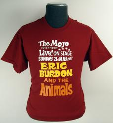 The Animals Sixties Mod Mojo Club Retro T-shirt