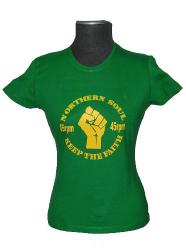 'Keep the Faith' (Skinny Fit) - Northern Soul Tee