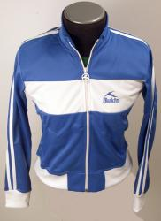 Bukta Retro Ladies Track Top Jacket (Blue/White)