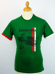 Scooter Manual LAMBRETTA Retro Mod T-Shirt (TG)